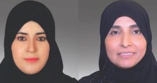 القاضيتان خديجة خميس خليفة الملص، وسلامة راشد سالم الكتبي