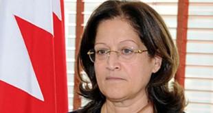 سميرة رجب المبعوث الخاص للديوان الملكي البحريني